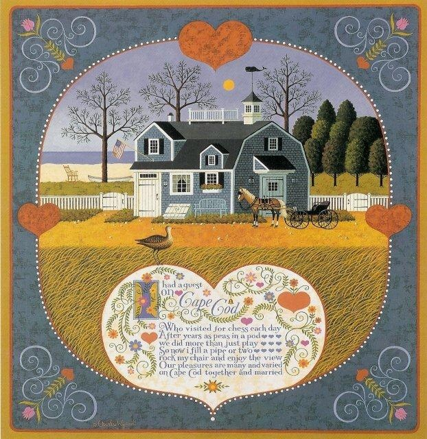 385 Best Charles Wysocki Images On Pinterest