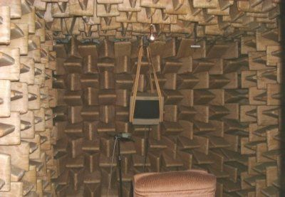 UCL anechoic chamber - A room without sound