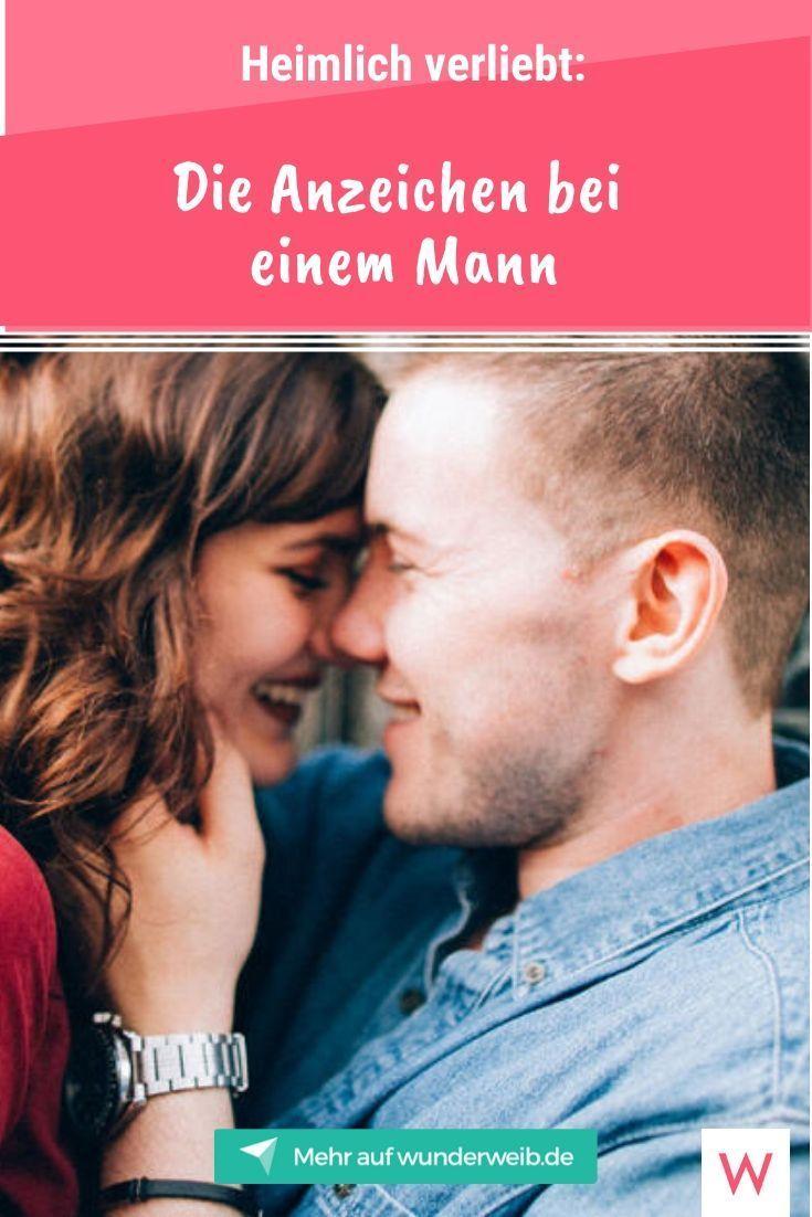 Heimlich verliebt: Die Anzeichen bei einem Mann