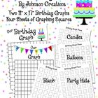 "I did this activity on the first day of school every year, but you can do it any time of the year! This packet has two 11"" x 17"" birthday graphs an..."