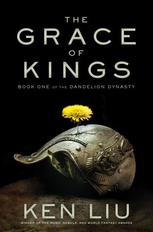 """""""The grace of kings"""", by Ken Liu - Wily, charming Kuni Garu, a bandit, and stern, fearless Mata Zyndu, the son of a deposed duke, seem like polar opposites. Yet, in the uprising against the emperor, the two quickly become the best of friends after a series of adventures fighting against vast conscripted armies, silk-draped airships, and shapeshifting gods."""