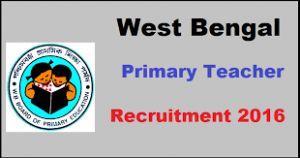 WBBPE Recruitment 2016 - Candidate apply online for 42949 Primary Teachers Vacancies, Check West Bengal Teacher Jobs notification, WB Pra teacher form date.