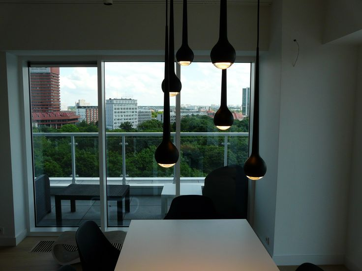 View from Dining Room / private apartament / Poznan /project Ipnotic Architecture