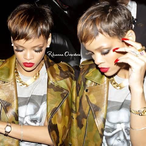 rihanna short hair 2013 - Yahoo! Image Search Results
