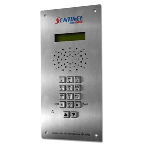 Door station & quality intercom systems with door release, keyless access. Includes vandal resistant stainless steel panel. Commercial grade quality protects property from unwanted entry at gates, doorways and entry points screening visitors with access control.