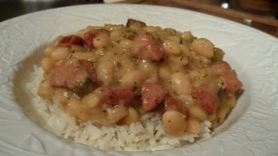 Cajun White Beans with Rice