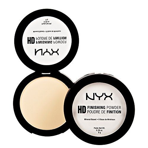 NYX HD Finishing Powder - Banana HDFP02. To set undereyes. Kathleenlights