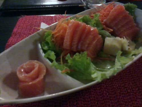 Ginza Restaurante Japonês - Sashimi