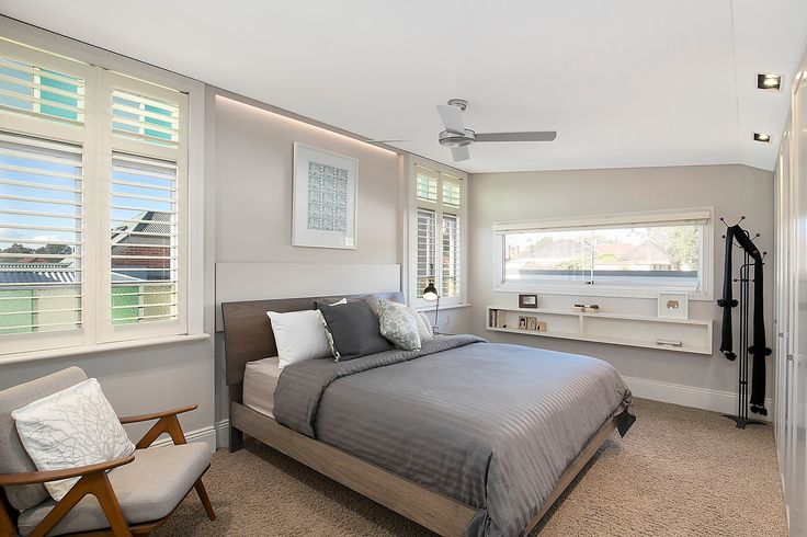 Main king-size bedroom with b/ins & marble ensuite