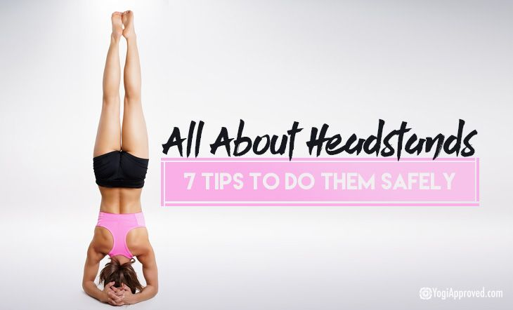 Headstand, also known as Shirshasana, is the yoga pose where you literally stand on the top of your head. Headstand not only makes you see the world upside