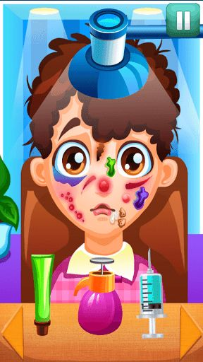 Skin Doctor For Kids is one of the most amusing skin surgery games for free to spend your leisure time on holidays. With this entertaining game for teenagers you will learn more about skin care: face cleaning, acne tips, pimple popper, surgery operations and of course face care. There is a wide variety of activities you can try: examine, diagnose and treat your patients with doctor tools at your disposal!<p><br>***How to play:<br>You are a little skin doctor. Provide the best skin care for…