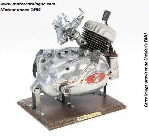 1964 Demm (Italy) 49cc Moped