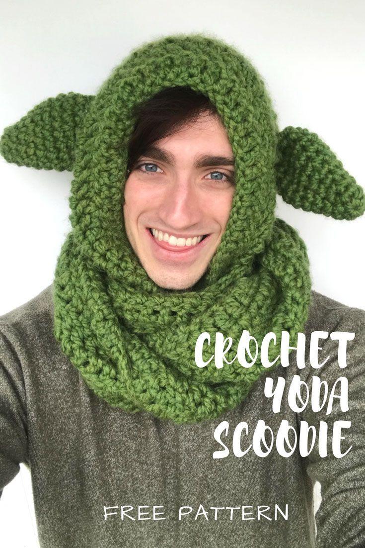 Yoda Scoodie Fiber Flux Community Board Pinterest Crochet