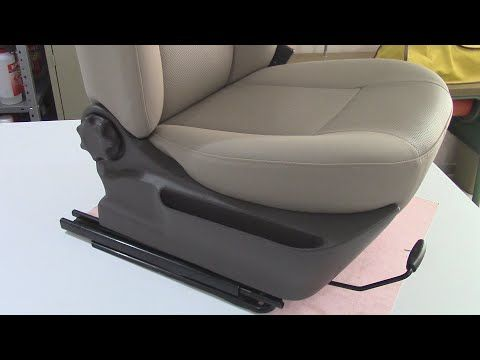Plastic Trims Wrapped in Vinyl - Car Upholstery - YouTube   Chair in