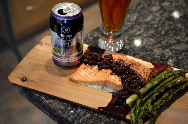 [ Cedar Planked Salmon Recipe ] Want to impress your guests without too much effort? Bbq the salmon on a cedar plank and add a simple one-pot sauce! #cider #salmon #weeknight