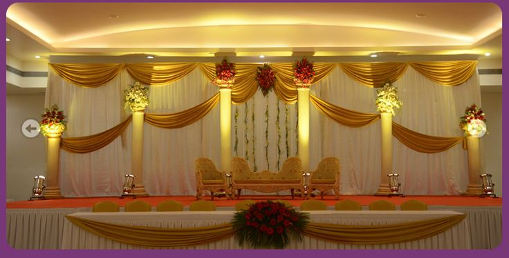 These Indoor Ceremony Backdrops Will Make You Pray For: Outdoor Indian Wedding Stage Decorations