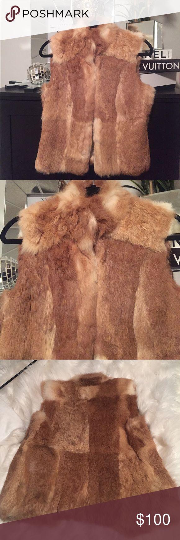 Elie Tahari Woman's rabbit fur vest size small Elie Tahari Woman's 100 % rabbit fur vest size small from Bergdorf Goodman like new only wore once Elie Tahari Jackets & Coats Vests