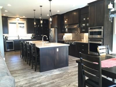 ash kitchen cabinets how to decorate your style selections natural timber wood look porcelain ...