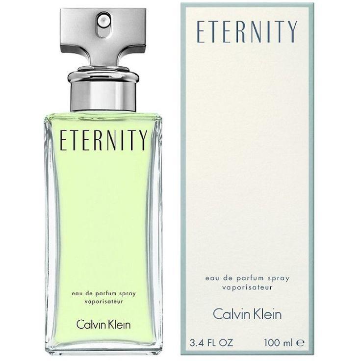 Calvin Klein Eternity 100 ml apa de parfum pentru femei DESIGILAT e ca si cum ai avea bratele pline de flori. Inveliti-va in tonurile romantice si senzuale