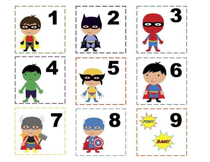 Calendar Numbers Printables Preschool : Free printable preschool calendar numbers
