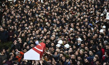 Turkey Mourns As Funerals Begin For Victims Of Istanbul Terror Attack