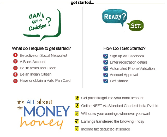 Make Money Online India - Quickee