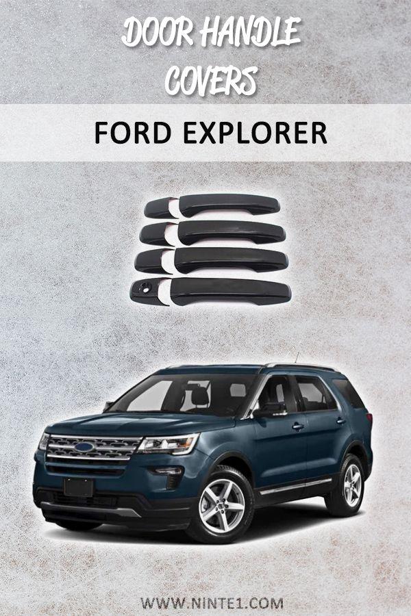 Gloss Black For 2011 2018 Ford Explorer 2012 2014 Ford Edge 4 Door