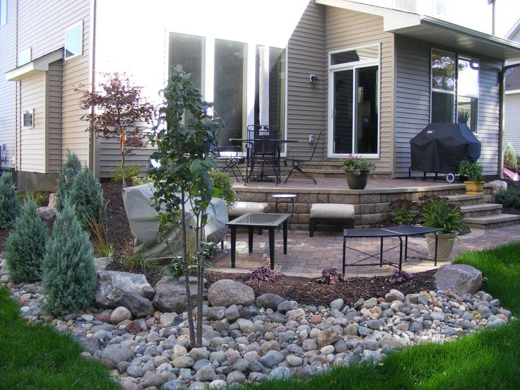 Custom Designed Multi Level Paver Patio And Landscape.