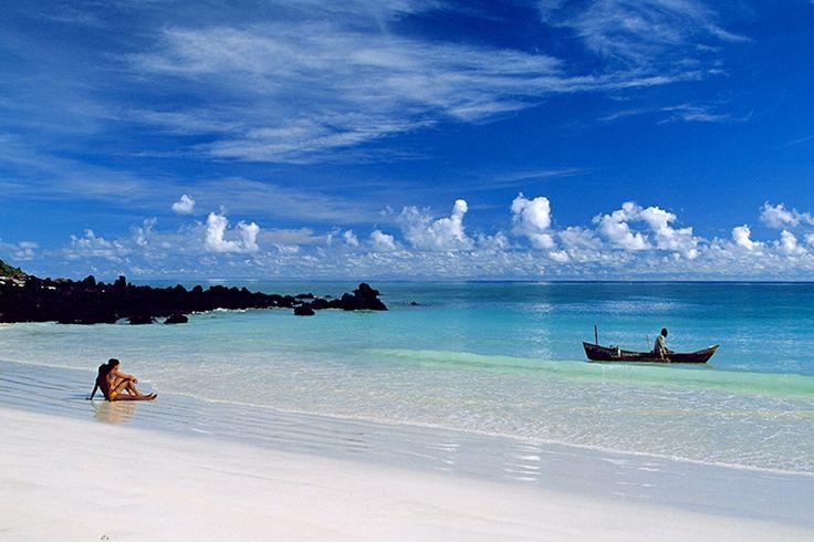 Comoros Islands archipelago is located between Madagascar and Mozambique