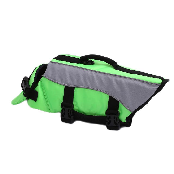 Dog Pet Life Jacket Safety Clothes Swimwear Reflective Preserver Safety Clothing #Affiliate