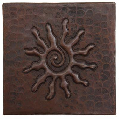 Copper Sun Tile