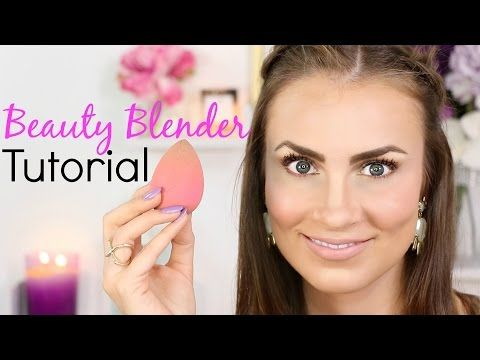 Beauty Blender Tutorial | How To Use To Create A Flawless Face (Full Face Makeup Routine) - YouTube
