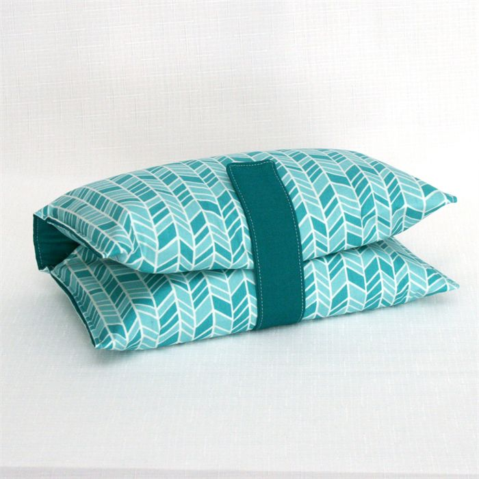 Nappy Wallet - Teal Turquoise Arrows