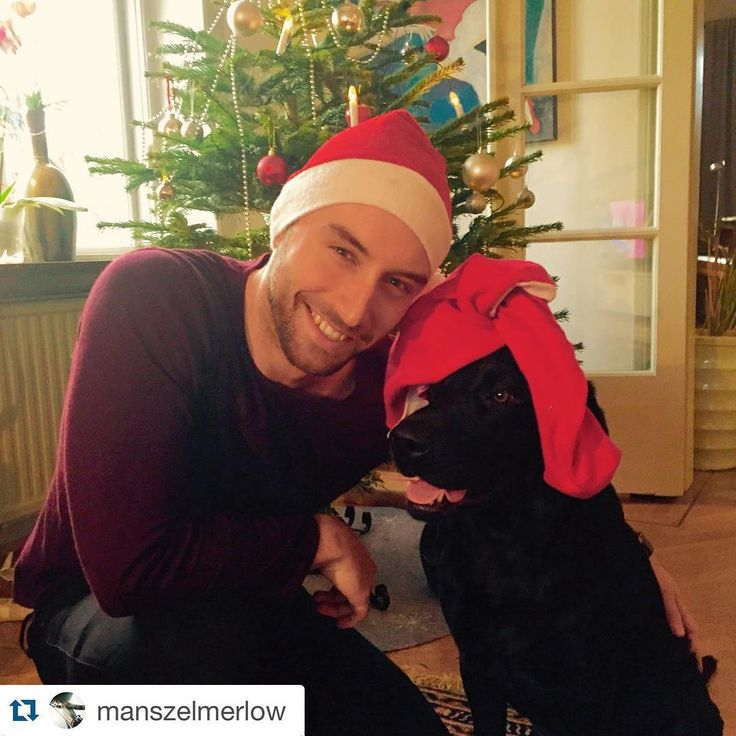 Even after Christmas, this pic of #Eurovision winner @manszelmerlow is SOOO cute! #Repost @manszelmerlow ・・・ Merry Christmas from me and Messi!