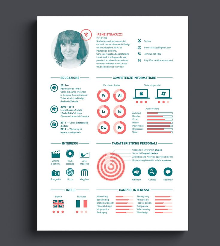 17 best Creative Resumes images on Pinterest Resume design - interactive resume