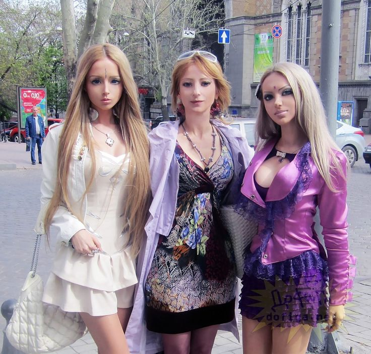Meet The Family Of Real Life Barbie Valeria Lukyanova. Their Photos Will Shock You.
