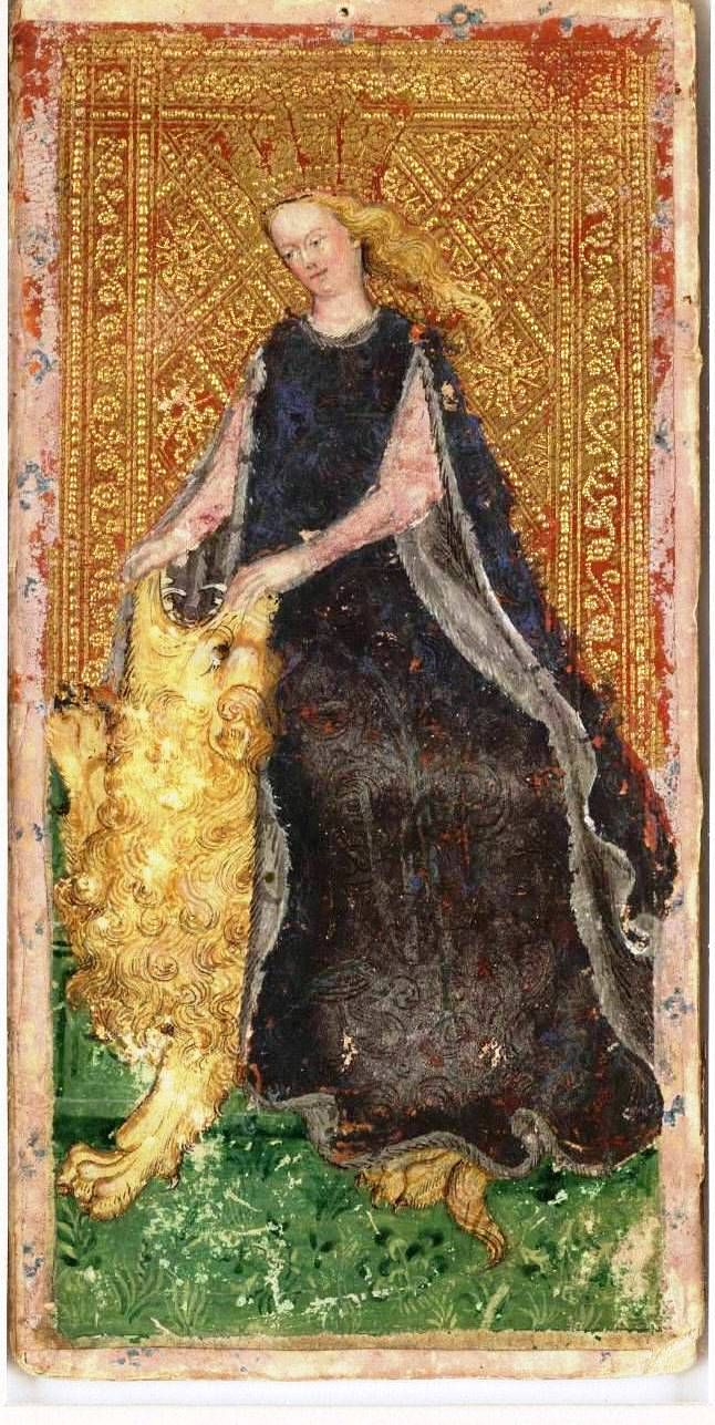 84 Best Images About Visconti-Sforza Tarot On Pinterest