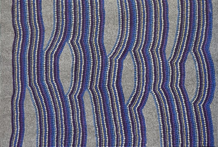 Out to Sea, Amanda Conway-Jones 89x59 cm   #AboriginalArt