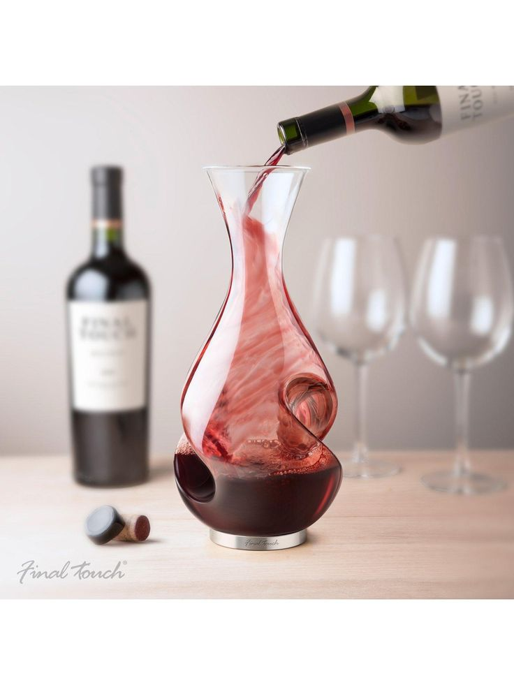 Final Touch Conundrum Wine Decanter | littlewoods.com