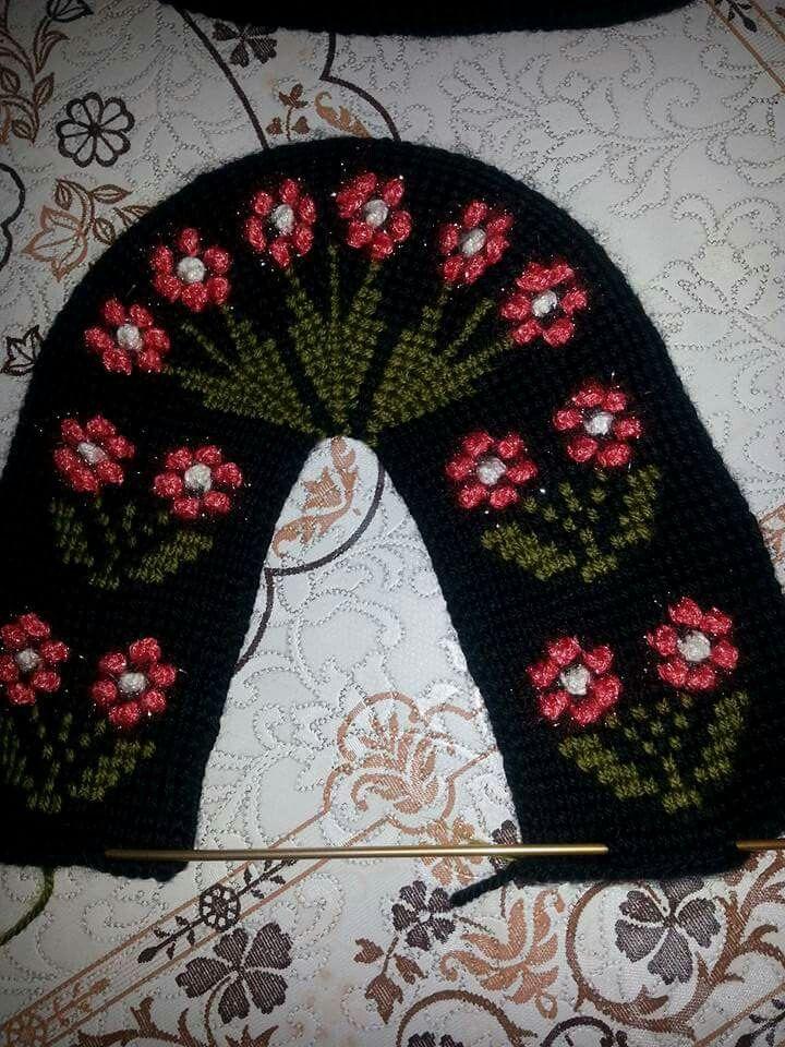 Kabartmalı çiçek