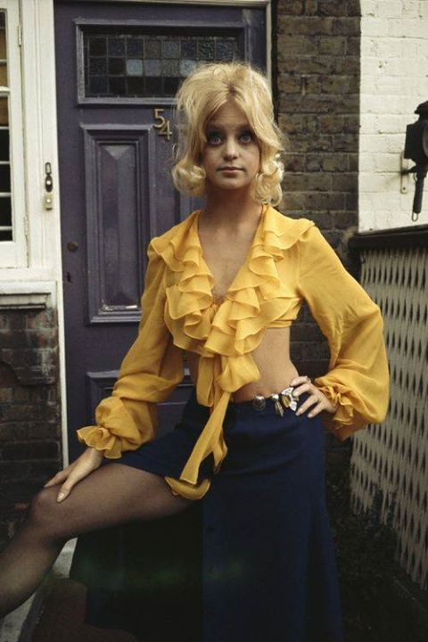 Goldie Hawn Psychedelic 60s Quot There S A Girl In My