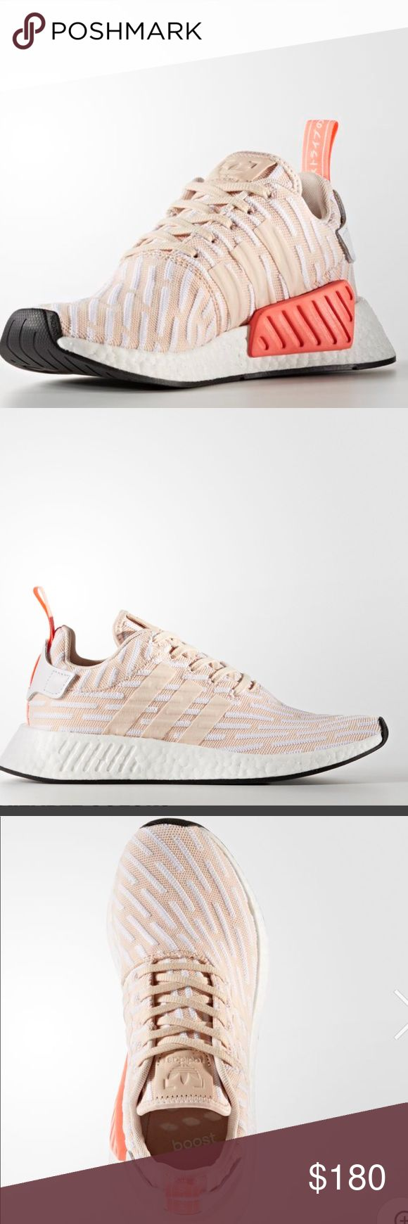 Coming soon...ADIDAS -NMD R2 shoes. Size:9.5 New Authentic ADIDAS NMD R2. Size:9.5 women🌸                                                               ✅primeknit boost.                                                             ✅New with box and tags.                                                       ✅May run big due to wide fit. Won't last🔥🔥🔥 ADIDAS Shoes Sneakers