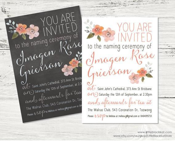 12 best naming ceremony images on pinterest christening 15 print ready naming ceremony invitation template psdaiindesignword stopboris Image collections