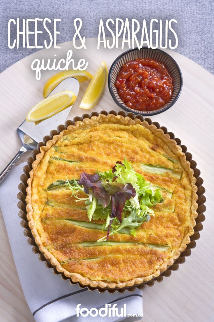 A light dinner, late-morning brunch or lazy Sunday lunch with friends – this cheese and asparagus quiche does it all. A great option for vegetarians, it only takes 1 hour to make and serves 6 people.