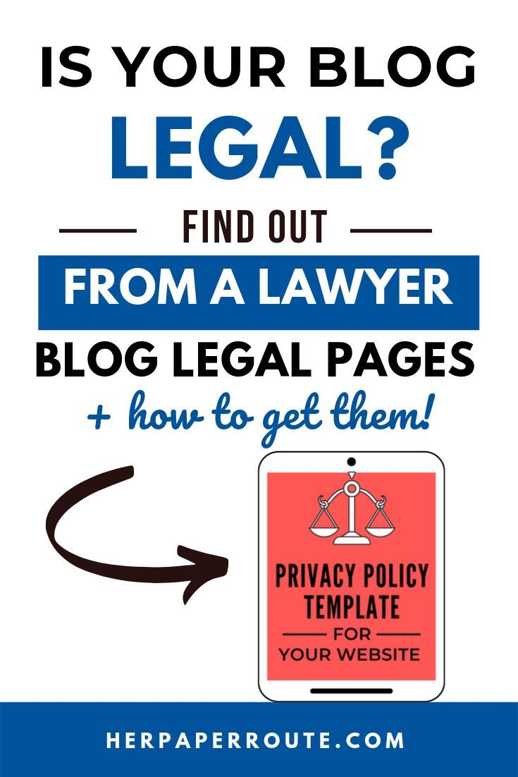 5 Legal Tips For Bloggers From A Lawyer Protect Your Blog Blog