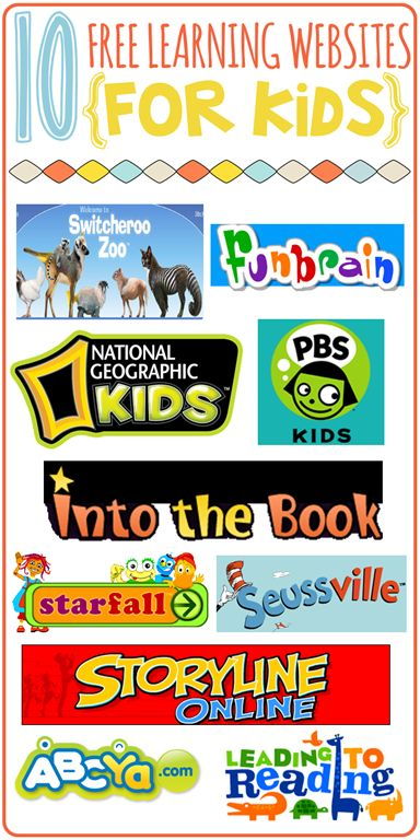 American educational websites for children. Lots of reading and mathematical links.