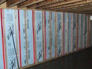 basement wall framing 300x225 How To Insulate Basement Walls