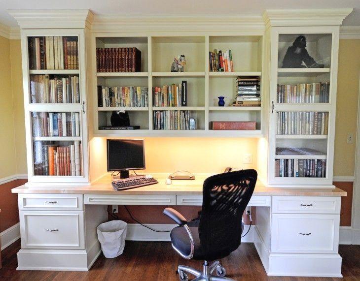 Bookshelf Desk Bookcase, Desk And Shelves