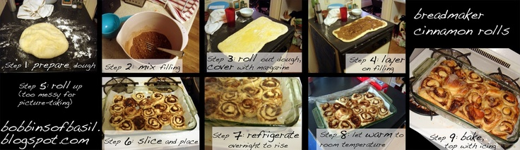 Nutella Filled Cinnamon Rolls Drizzled With Cherry Glaze Recipe ...