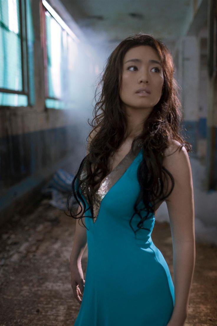 The beautiful Gong Li